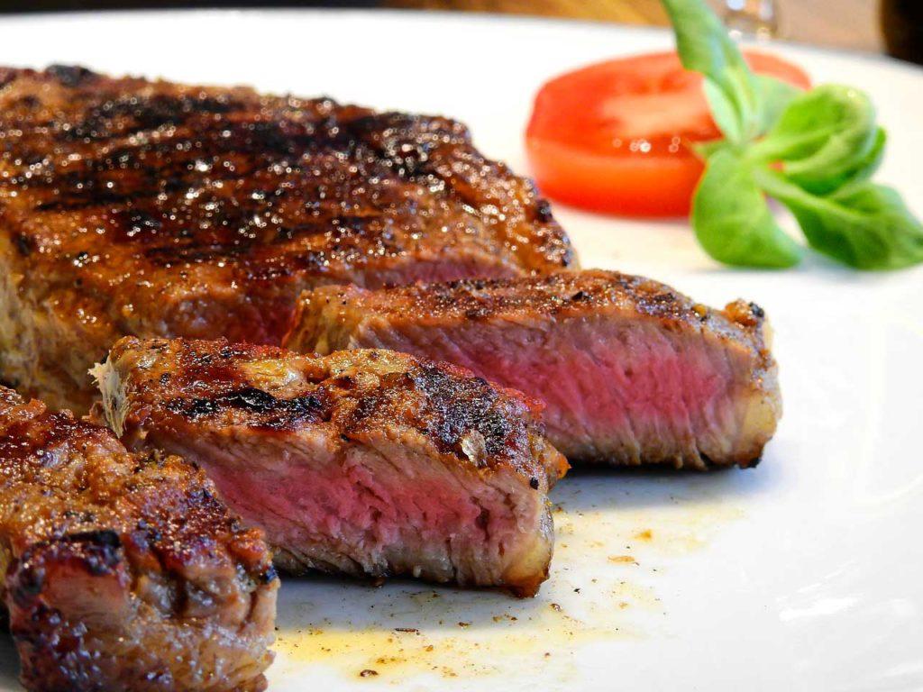 Carne Cotta Barbecue Senza Fumo